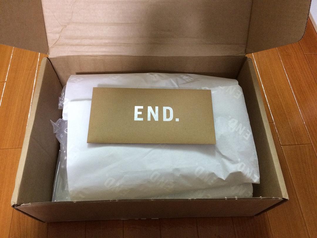 END.の梱包状態